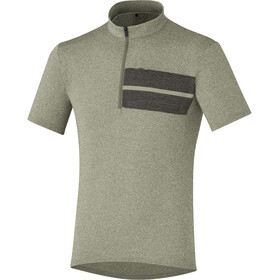 Shimano Transit Pavement Jersey Men Dusky Green